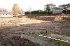 21 Nov 2017 : Le terrassement prend forme.